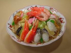 海鮮皿うどん (2)